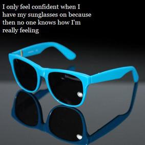 """тогда никто не видит, что я на самом деле чувствую""""."""